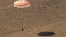 Drei Raumfahrer wohlbehalten von ISS zurückgekehrt