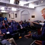 Die Geduld der Amerikaner werde getestet, sagte Präsident Donald Trump.