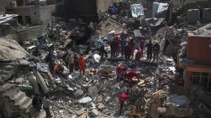 Pentagon bestätigt mehr als 100 zivile Opfer in Mossul