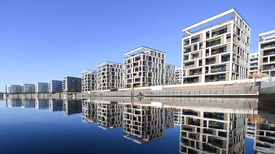 Exklusiver wohnen: Neubauten am Offenbacher Hafen