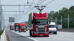 Elektro-Highway im Vollbetrieb