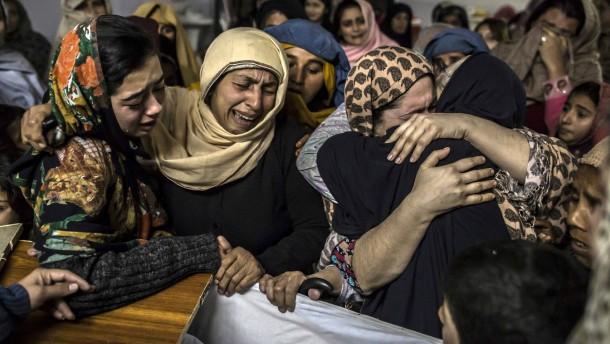 Tage der Trauer in Pakistan