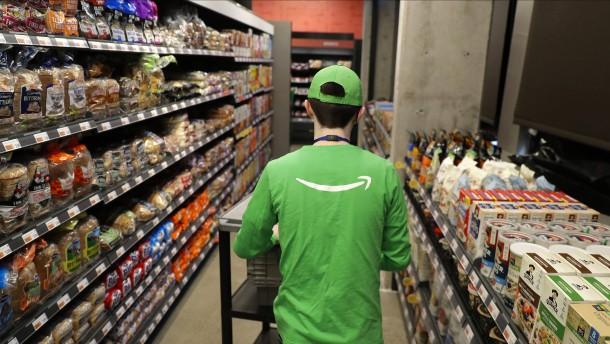 Ein Supermarkt ohne Kasse