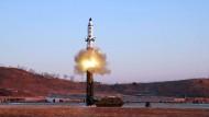 Kim Jong Un provoziert mit neuem Raketentest