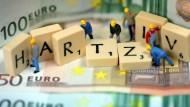 Hartz-IV-Regelsatz soll um acht Euro steigen