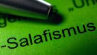 Salafismus: Die Präventionsarbeit ist schwierig.