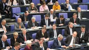 Bundestagsmandat kein Karriere-Beschleuniger