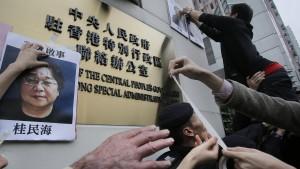 Zehn Jahre Haft für Buchhändler Gui Minhai