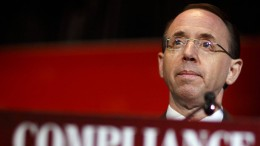 Rod Rosenstein erwägt offenbar Rücktritt