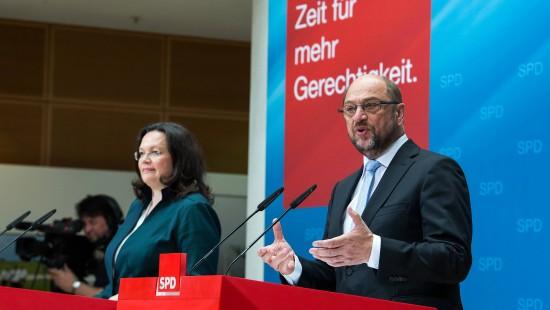 Schulz: SPD will Rentenniveau von 48 Prozent halten