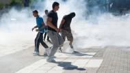 Ausschreitungen in Mitrovica