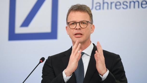 Die Deutsche Bank ruft nach mehr Industriepolitik