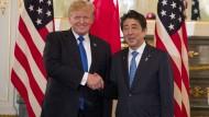 Trump fordert fairen Handel mit Japan
