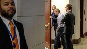Republikaner stören Anhörung zur Ukraine-Affäre