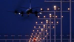 Nachtflüge in Frankfurt vorläufig verboten