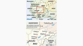 Infografik / Karte / Mali