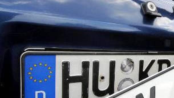 Wachsendes Interesse an alten Autokennzeichen