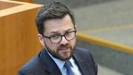 """""""So etwas habe ich noch nie erlebt"""": SPD-Landtagsfraktionschef Thomas Kutschaty, hier im nordrheinwestfälischen Landtag"""