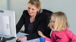 Zwei von drei Müttern sind in Teilzeit beschäftigt