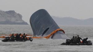 """Kapitän der """"Sewol"""" zu lebenslanger Haft verurteilt"""