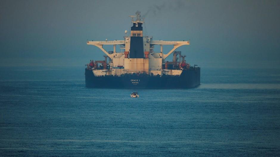 Der iranische Öl-Tanker Grace 1 wurde inzwischen in Adrian Darya-1 umbenannt.