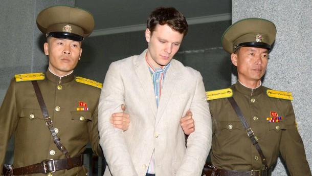 Amerikanischer Student zu 15 Jahren Arbeitslager verurteilt