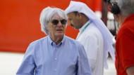 Formel-1-Manager Bernie Ecclestone in Bahrein: Die Entdeckung der Menschnrechte