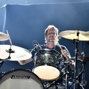 Ausgebremst: Urban Berz, Schlagzeuger der New Roses, bei einem Konzert im vergangenen Sommer
