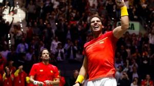 Gastgeber Spanien erreicht Davis-Cup-Endspiel