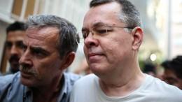 Türkei lässt Brunson frei