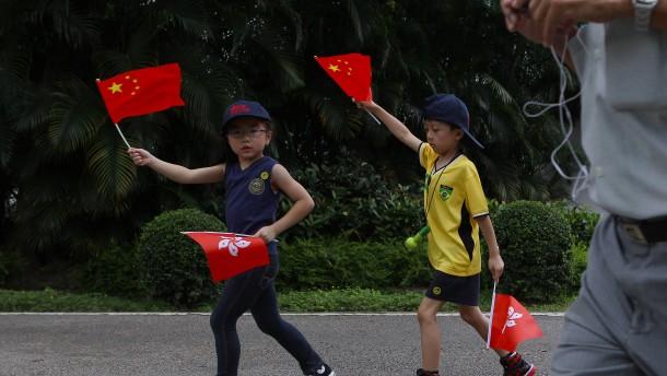 Wie Hongkongs Schüler indoktriniert werden sollen