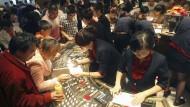 China ist im Goldrausch