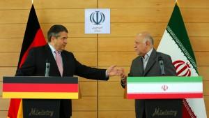 Gabriel fordert Iran zu Dialog über Existenzrecht Israels auf
