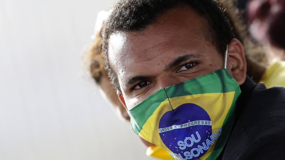 In Bezug auf die Infektionszahl ist Brasilien weltweit am zweitstärksten von der Covid-19-Pandemie betroffen.