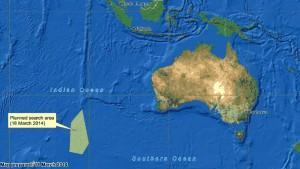 Suche konzentriert sich auf den Indischen Ozean
