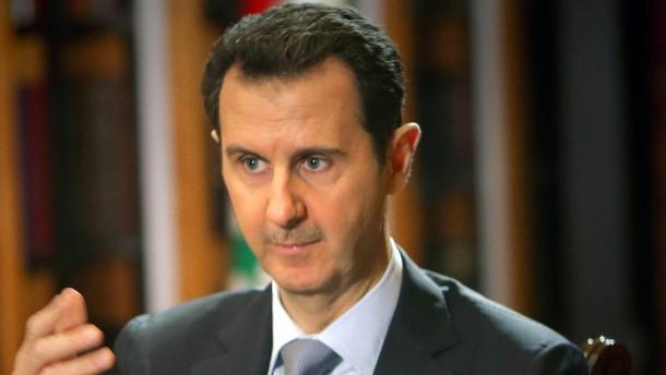 Assad weist Verantwortung für Chemiewaffenangriff zurück