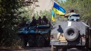 Ukraine fordert Militärhilfe vom Westen