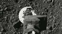 "Nasa-Sonde ""Osiris Rex"" sammelt Bodenprobe auf Asteroid"