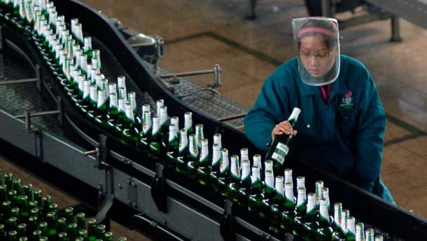 Jetzt überholen uns die Chinesen auch im Biertrinken
