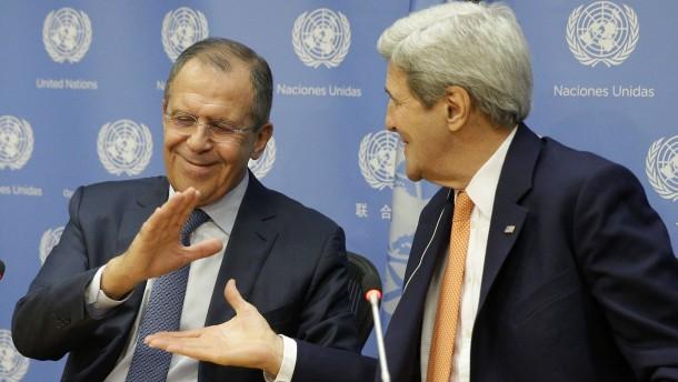 Amerika und Russland sprechen wieder miteinander