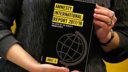 Amnesty zieht Bilanz für 2017