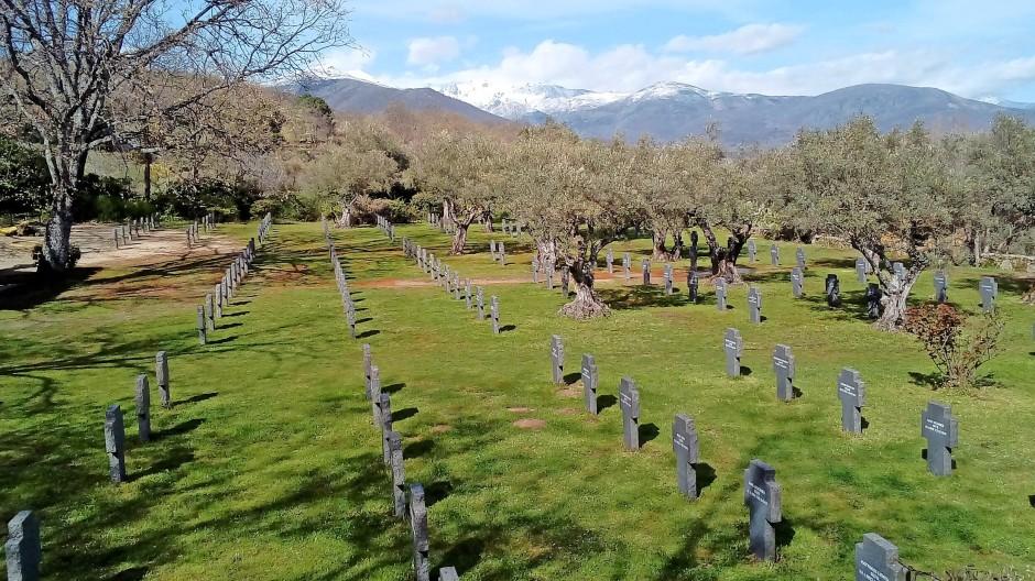 In Yuste fanden 180 deutsche Soldaten ihre letzte Ruhe.