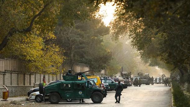 Angriff auf Universität von Kabul