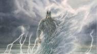 Der Meeresgott Ulmo hat eine Auftrag für Tolkiens Helden.