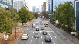 Ein Dieselfahrverbot für ein Dutzend Frankfurter Straßen?