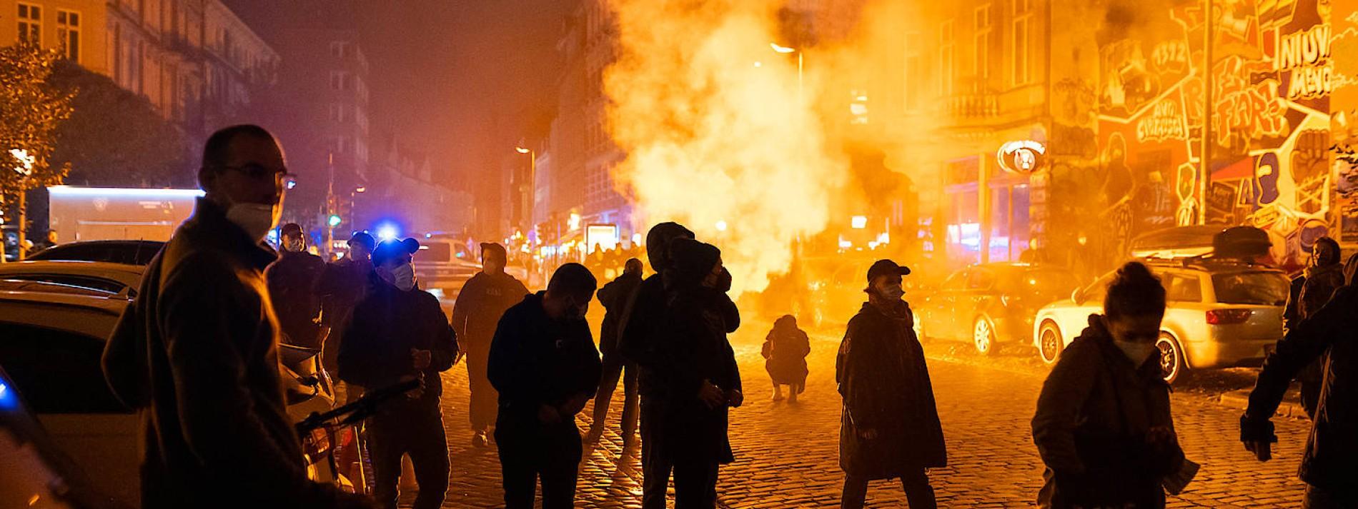 """Ausschreitungen nach """"Köpi""""-Räumung in Berlin"""