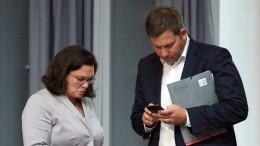 SPD bereitet sich auf Neuwahlen vor