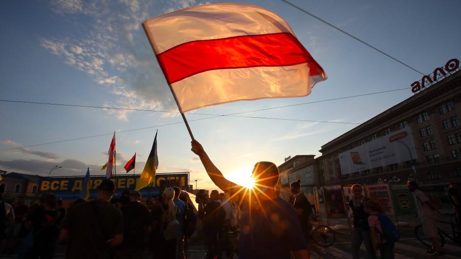 Landesweite Proteste in Belarus