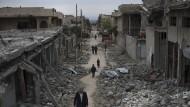Mehr als 100 Zivilisten sterben bei gewaltiger Explosion in Mossul