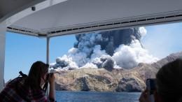 Anzeigen gegen Veranstalter nach Vulkanausbruch in Neuseeland